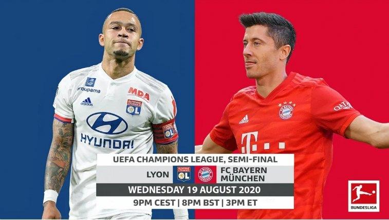 Lịch thi đấu bóng đá hôm nay 19/8: Bayern đấu Lyon
