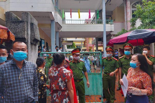 An ninh thắt chặt tại phiên tòa xử Nguyễn Xuân Đường đánh người
