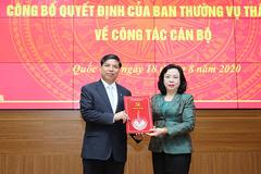 Chủ tịch huyện Quốc Oai Đỗ Huy Chiến nhận nhiệm vụ mới