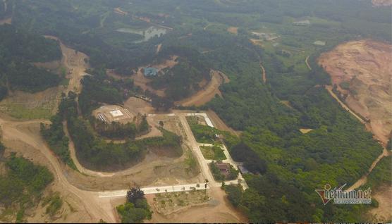Buộc khôi phục nguyên trạng khu núi Con Voi bị 'cạo trọc đầu' ở Vĩnh Phúc