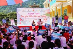 "Propagating the Law of the Sea of Vietnam, Law on the Vietnam Coast Guard through the contest ""I love my country's sea and islands"""