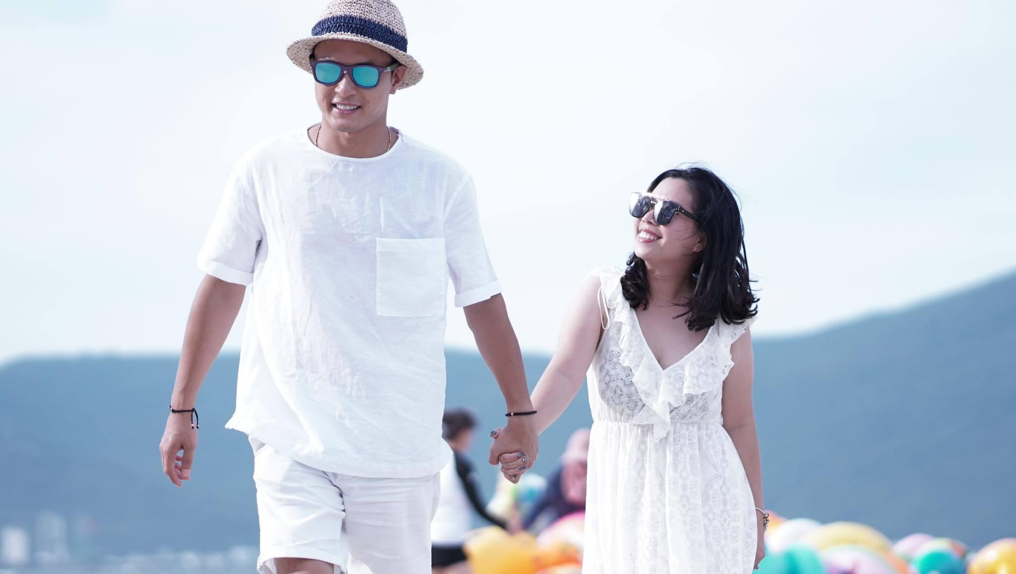 Bà xã khéo léo, chiều chồng hết mình của diễn viên Hồng Đăng