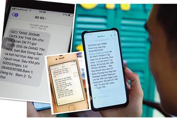 Gọi điện, nhắn tin quảng cáo sai quy định sẽ bị phạt đến 100 triệu đồng