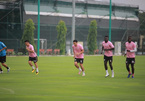Doan Van Hau has first training session after returning to Hanoi FC