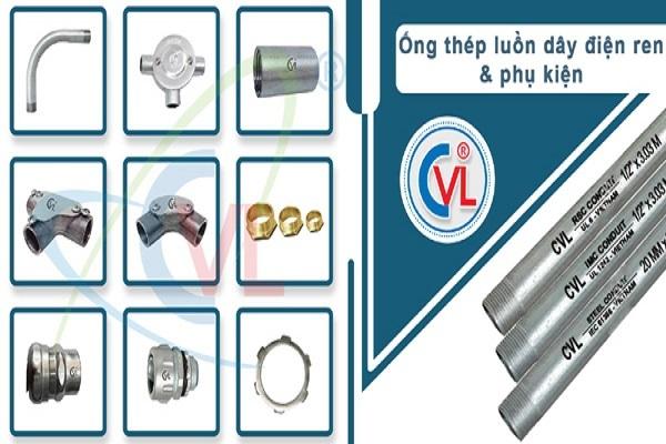 Ống thép luồn dây điện RSC Cát Vạn Lợi đạt chuẩn ANSI C80.1