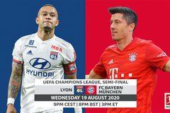 Bayern Munich vs Lyon: Hùm xám thị uy sức mạnh