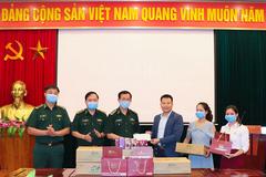 Eco Siberia Việt Nam tiếp sức bộ đội biên phòng tuyến đầu chống dịch