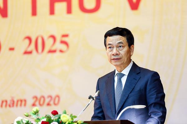 Toàn văn bài phát biểu của Bộ trưởng TT&TT Nguyễn Mạnh Hùng tại Đại hội Đảng bộ Bộ TT&TT