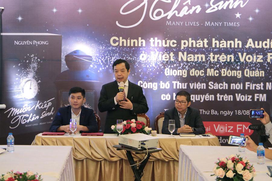 Sách nói 'Muôn kiếp nhân sinh' với giọng đọc MC Đông Quân