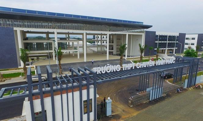 Khánh thành trường chuyên 473 tỷ ở Vĩnh Phúc