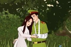 MV hoạt hình 'Tình yêu lính công an' gây xúc động mạnh