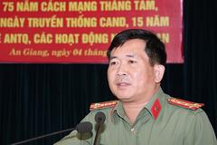 Phá nhiều vụ án, bắt giang hồ cộm cán và dấu ấn của Đại tá Đinh Văn Nơi