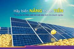 TPBank ưu tiên vốn cho các dự án điện mặt trời mái nhà
