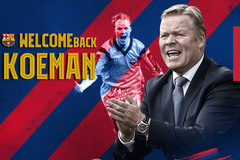Barca chính thức ký 2 năm với HLV Koeman