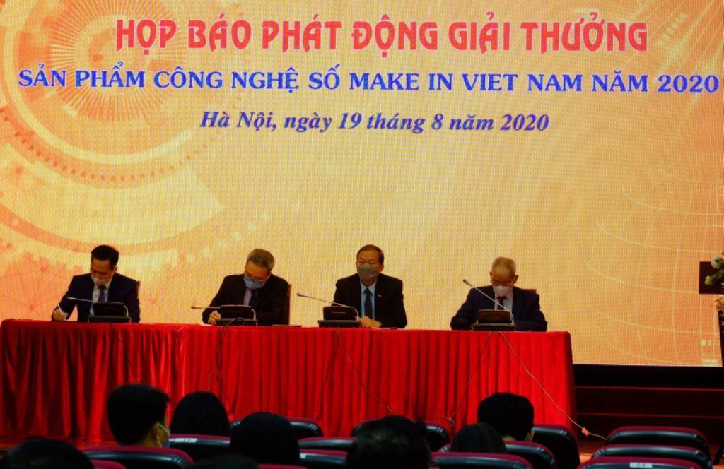 Phát động Giải thưởng Sản phẩm công nghệ số Make in Vietnam