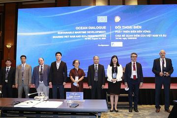 Hợp tác biển Việt Nam - EU để bảo đảm tự do hàng hải, hàng không
