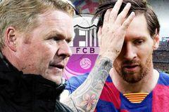 Messi kết thúc cuộc chiến Barca, tuyên bố rút ruột gan