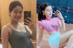 Người phụ nữ giảm 16 kg sau khi sinh con