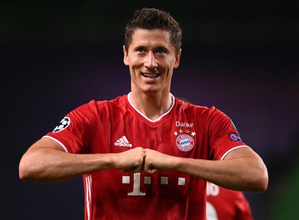 Lewandowski sắp san lấp kỷ lục ghi bàn ở Cúp C1 của Ronaldo