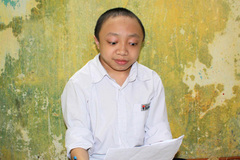 Schoolboy works hard to overcome illness