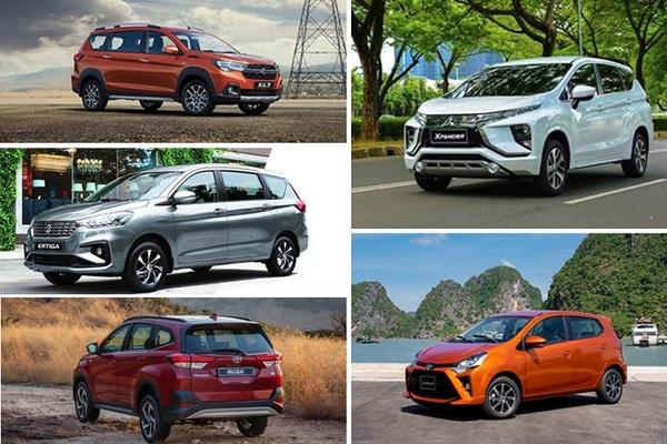 """Năm mẫu xe nhập từ Indonesia """"hot"""" nhất tại thị trường Việt"""