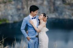 Cặp đôi làm đám cưới sau 10 tháng quen nhau trên truyền hình