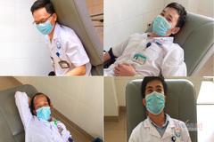 Nhóm bác sĩ, nhân viên y tế ở Quảng Trị hiến máu, cứu sống bệnh nhân