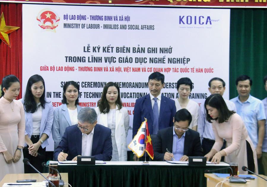Hợp tác với Hàn Quốc tạo việc làm cho nhóm người yếu thế