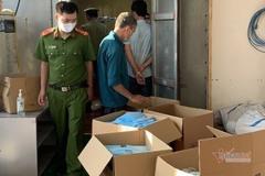 Công an Hải Dương bắt giữ 70 nghìn chiếc khẩu trang y tế sản xuất lậu