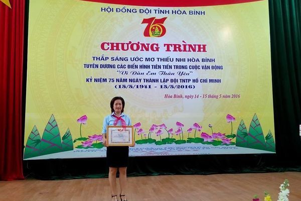 Sự tử tế nhỏ bé của cô giáo tiếng Anh với bệnh nhân ung thư