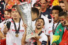 Inter 2-3 Sevilla: Lukaku dâng cúp vô địch cho Sevilla