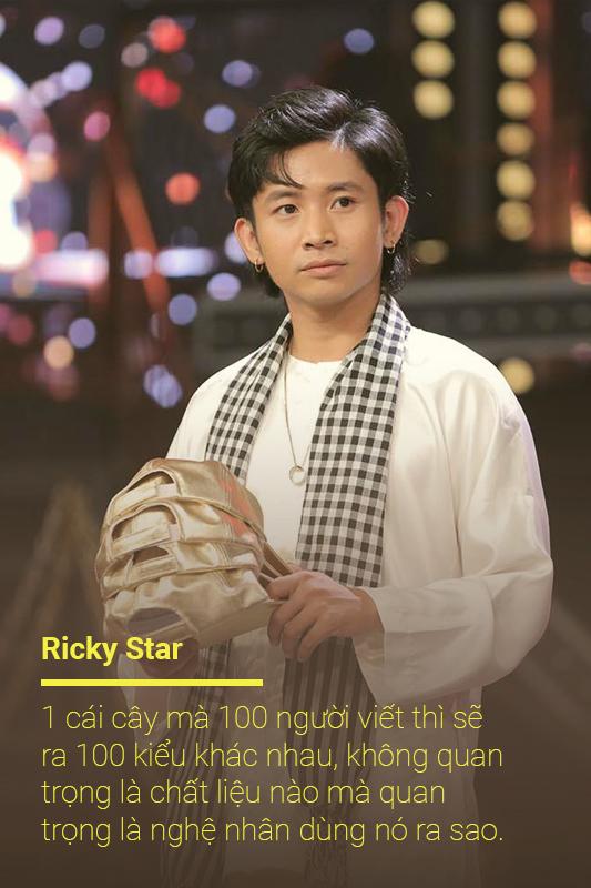Ricky Star kiếm tiền thưởng Rap Việt mua máy nước nóng, ghế sofa