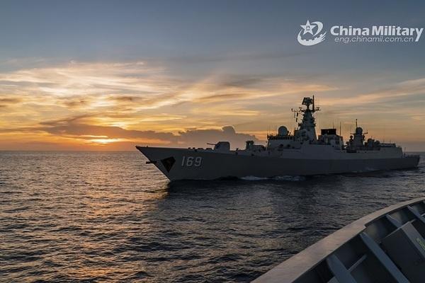 Trung Quốc tập trận quy mô lớn ở Hoàng Hải