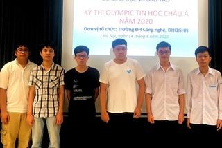 Việt Nam giành 1 HC Vàng, 4 HC Bạc Olympic Tin học Châu Á