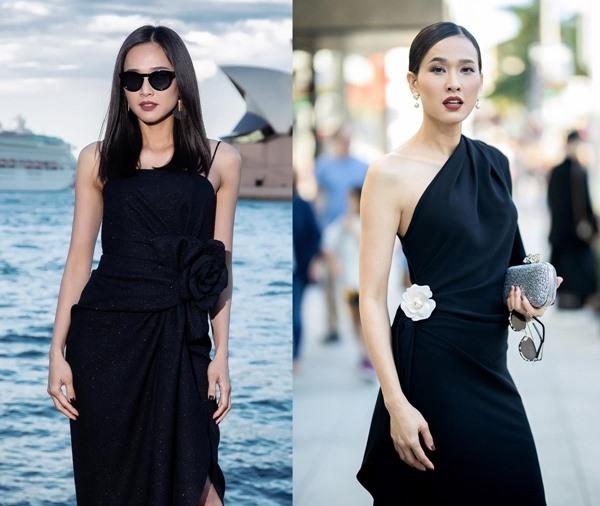 Hoa hậu Dương Mỹ Linh trẻ trung, thanh lịch ở tuổi 36