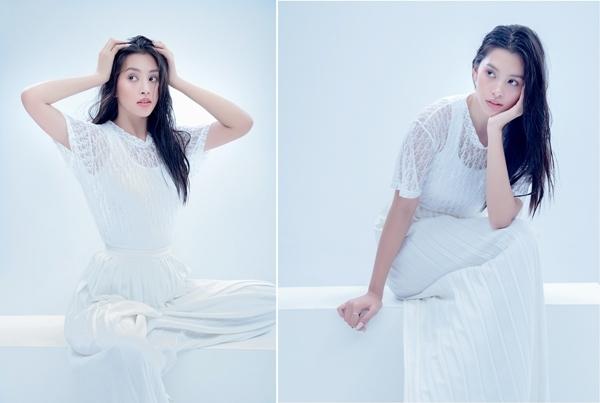 Hoa hậu Tiểu Vy biến hóa phong cách đón tuổi mới