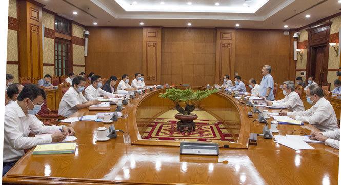 Bộ Chính trị cho ý kiến phương án nhân sự chuẩn bị Đại hội Đảng 11 tỉnh