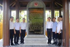Bộ TT&TT về nguồn nhân kỷ niệm 75 năm ngày truyền thống