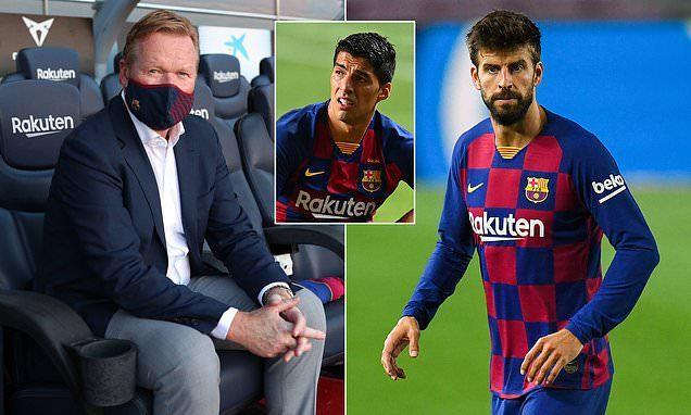 Dembele sẵn sàng đến MU, Barca giữ Pique, loại Suarez
