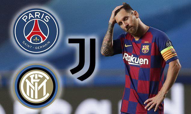 Nóng Messi rời Barca, Higuain bị Juventus cắt hợp đồng