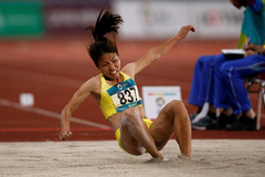 Baby on the way, long jump champ Thao eyes competition
