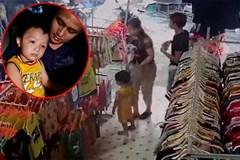 Hé lộ clip kẻ bắt cóc cháu bé ở Bắc Ninh đưa bé đi mua quần áo đổi nhận dạng
