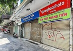 Central business streets deserted in Hanoi, but retail premises still expensive