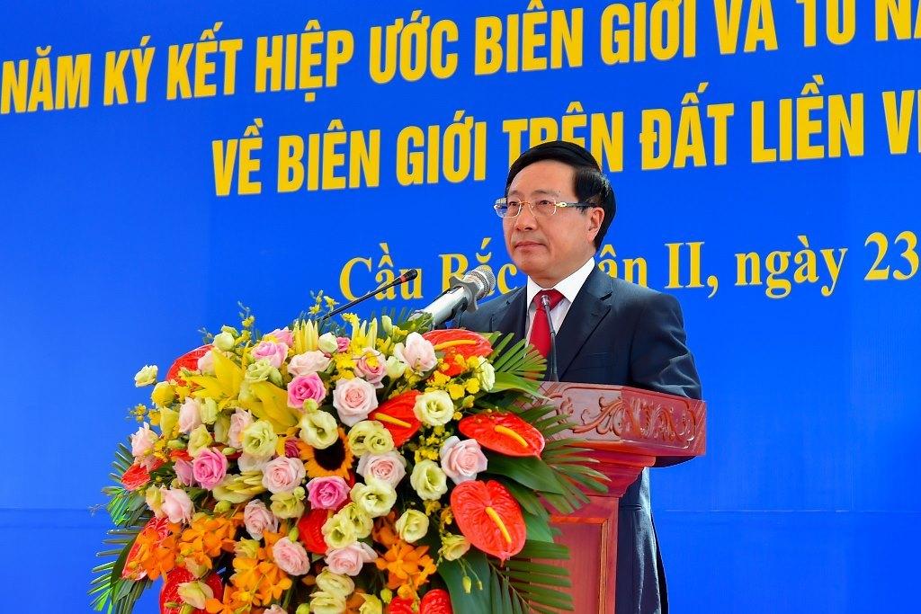 Việt Nam - Trung Quốc thúc đẩy hợp tác tại khu vực biên giới