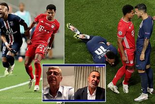 Sao Bayern được khen vì… đá vào chân Neymar ở chung kết C1