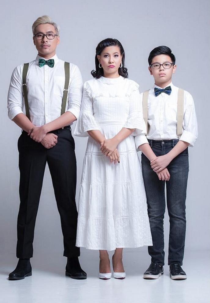 Con trai 17 tuổi cao 1m74 của Cát Phượng và Thái Hòa