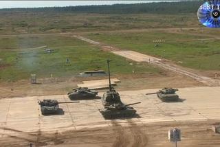 Xem dàn tăng T-80U 'múa ballet' mở màn Tank Biathlon 2020