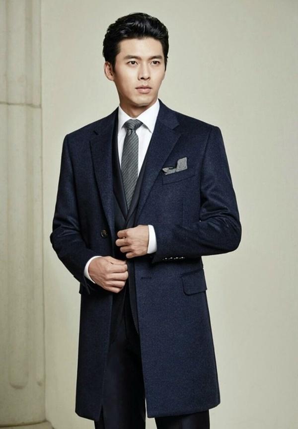 Thời trang cực chất của 'nam thần' Hyun Bin