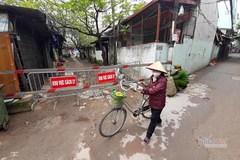 Cách ly gia đình 5 người ở Hà Nội khi một thành viên tái dương tính Covid-19