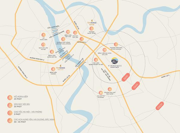 Phía đông Hà Nội 'lột xác' với loạt dự án khủng